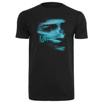 metál póló férfi Korn - Face - NNM, NNM, Korn