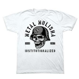 utcai póló férfi - INSTITUTIONLIZED - METAL MULISHA - M1851831.01, METAL MULISHA