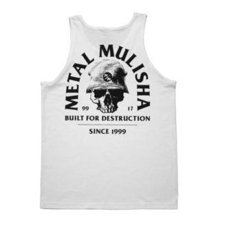 METAL MULISHA Férfi felső - BUILT - WHT, METAL MULISHA