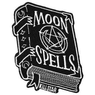 KILLSTAR Rávasalható felvarró - Moon Spells, KILLSTAR