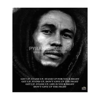 Poszter - Bob Marley (Get Up, Stand Up) - MPP50072, PYRAMID POSTERS, Bob Marley
