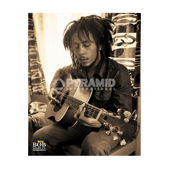 Bob Marley poszter (Sitting) - MPP50272, PYRAMID POSTERS, Bob Marley