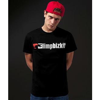 metál póló férfi Limp Bizkit - Logo - URBAN CLASSICS, URBAN CLASSICS, Limp Bizkit