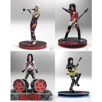 Mötley Crüe Figurák (készlet) - Band - Szikla Iconz, KNUCKLEBONZ, Mötley Crüe