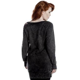pulóver (kapucni nélkül) női - Nico Slashed - KILLSTAR, KILLSTAR
