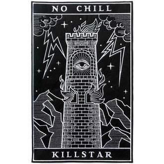 KILLSTAR felvarró - No Chill - Fekete, KILLSTAR