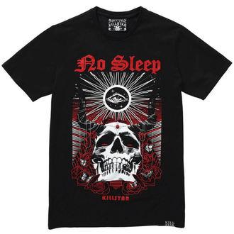 póló férfi - NO SLEEP T-SHIRT - KILLSTAR