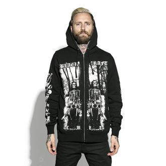 kapucnis pulóver férfi - Nightcrawler - BLACK CRAFT