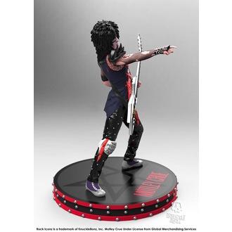 Mötley Crüe Figura - Nikki Sixx - Szikla Iconz - KNUCKLEBONZ