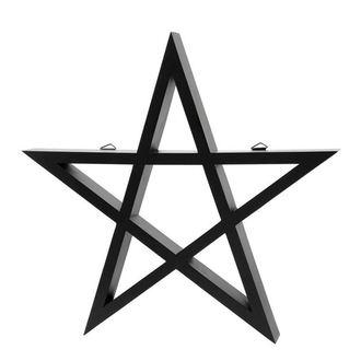 KILLSTAR Dekoráció - PENTAGRAM - FEKETE, KILLSTAR