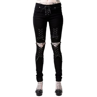 KILLSTAR Női Nadrág - PHASED OUT JEANS - FEKETE, KILLSTAR
