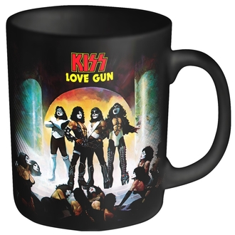 KISS bögre - LOVE GUN - PLASTIC HEAD, PLASTIC HEAD, Kiss
