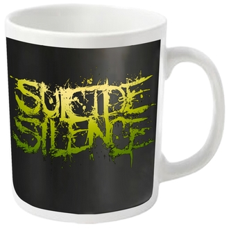 SUICIDE SILENCE bögre - LOGO - PLASTIC HEAD, PLASTIC HEAD, Suicide Silence