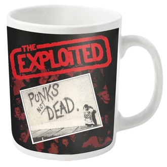 EXPLOITED bögre - PUNKS NOT DEAD - PLASTIC HEAD, PLASTIC HEAD, Exploited