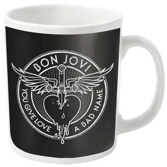 BON JOVI bögre - BAD NAME - PLASTIC HEAD, PLASTIC HEAD, Bon Jovi