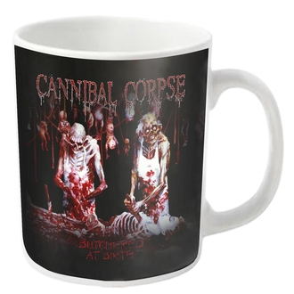 CANNIBAL CORPSE Bögre - BUTCHERED - fehér - PLASTIC HEAD, PLASTIC HEAD, Cannibal Corpse