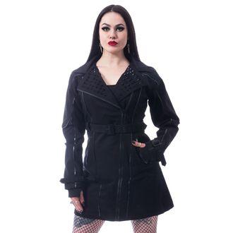 CHEMICAL BLACK Női kabát - CANAL - FEKETE, CHEMICAL BLACK