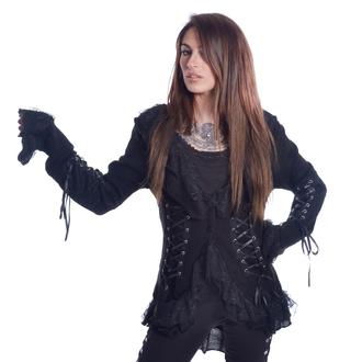 POIZEN INDUSTRIES Női kabát - 4726 GOTHIC - FEKETE, POIZEN INDUSTRIES