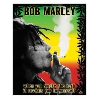 Poszter - Bob Marley (Herb) - PP0978, PYRAMID POSTERS, Bob Marley