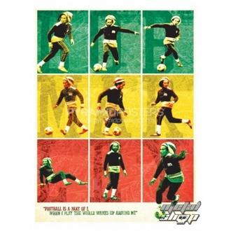 Bob Marley poszter (Football) - PP30504, PYRAMID POSTERS, Bob Marley