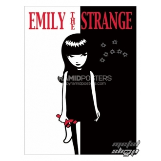 poszter - Emily The Strange (Strange Face) - PP31523, EMILY THE STRANGE