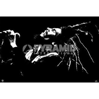 Bob Marley poszter (B&W) - PYRAMID POSTERS