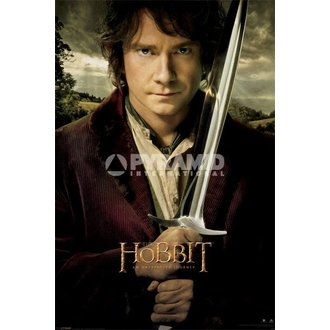 poszter The The Hobbit - Bilbo - Pyramid Posters, PYRAMID POSTERS