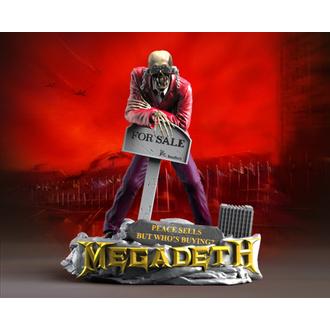 Megadeth Szobor/ Szobrocska (Dekoráció) - KNUCKLEBONZ - Béke Sells - VIC Rattlehead 2, KNUCKLEBONZ, Megadeth