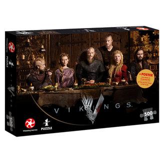 Vikings Puzzle - Ragnar's Court