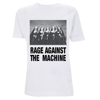 tričko pánské Rage Against The Machine - Nuns And Guns - White, NNM, Rage against the machine