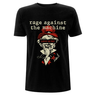 tričko pánské RAGE AGAINST THE MACHINE -  Sam - Black, NNM, Rage against the machine