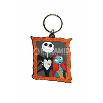 kulcstartó The Nightmare Before Christmas (Jack & Sally) - RK38063, NIGHTMARE BEFORE CHRISTMAS