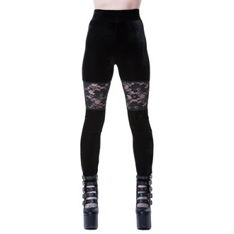 KILLSTAR Női Leggings - ROSE MERRY - FEKETE, KILLSTAR
