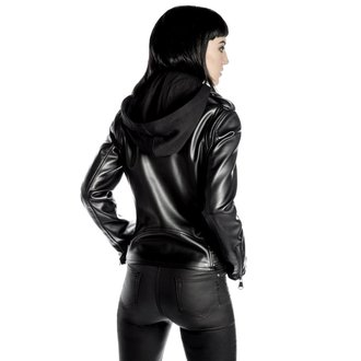 bőrdzseki női - Ruth Less Veganomicon Biker - KILLSTAR, KILLSTAR