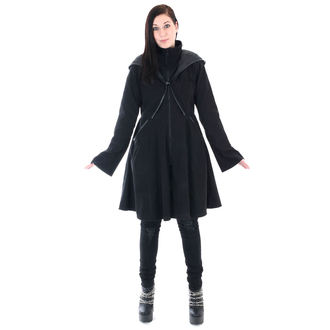 Női kabát POIZEN INDUSTRIES - TWILIGHT - FEKETE, POIZEN INDUSTRIES