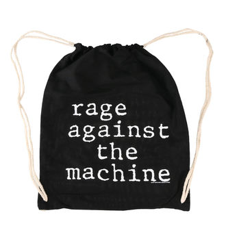 Rage Against the Machine Táska - Stack Logo - Fekete zsinórral, Rage against the machine