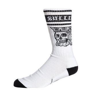 SULLEN Magas szárú zokni - JACKED - FEHÉR / FEKETE, SULLEN