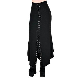 KILLSTAR Női szoknya - Slack Alice - FEKETE, KILLSTAR