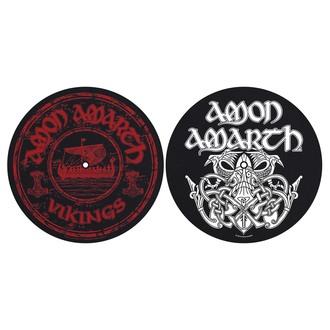 Amon Amarth Lemezlejátszó alátét (2db) - Vikings - RAZAMATAZ, RAZAMATAZ, Amon Amarth