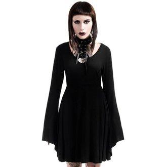 KILLSTAR női ruha - Spyda Lace-Me-Up - Fekete, KILLSTAR