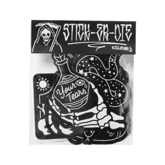 KILLSTAR matricák (készlet) - Stick It Sticker - FEKETE, KILLSTAR