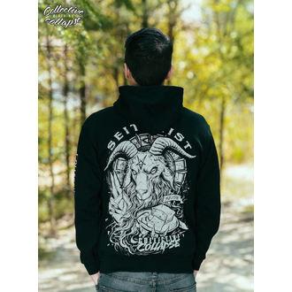 kapucnis pulóver férfi - Seitanist - COLLECTIVE COLLAPSE