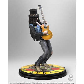 Guns N' Roses - Slash Figura - Szikla Iconz - KNUCKLEBONZ, KNUCKLEBONZ, Guns N' Roses