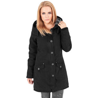 téli dzseki női - Garment washed Long Parka - URBAN CLASSICS, URBAN CLASSICS