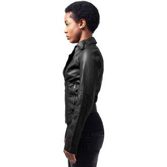tavaszi/őszi dzseki női - Leather Imitation Biker - URBAN CLASSICS, URBAN CLASSICS