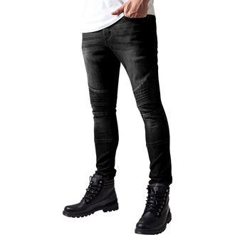 URBAN CLASSICS férfi farmer - Slim Fit Biker Jeans, URBAN CLASSICS