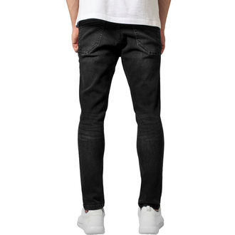 URBAN CLASSICS Férfi nadrág  - Skinny Ripped Stretch Denim, URBAN CLASSICS