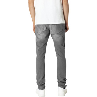 URBAN CLASSICS Férfi nadrág - Slim Fit Knee Cut Denim, URBAN CLASSICS