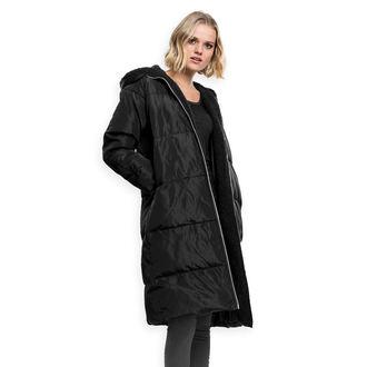 URBAN CLASSICS Női kabát - Puffer - fekete / fekete, URBAN CLASSICS