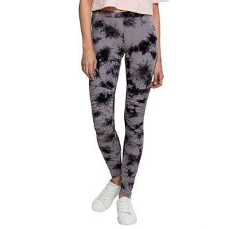 URBAN CLASSICS Női leggings nadrág - Biker Batik - szürke / fekete, URBAN CLASSICS